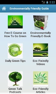 Environmentally Friendly Guide - screenshot thumbnail