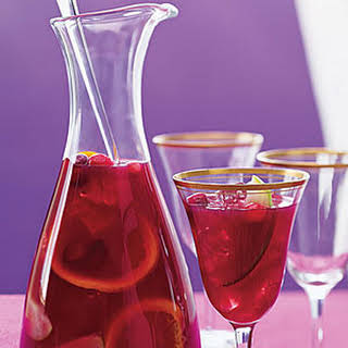 Cranberry Juice Sangria.
