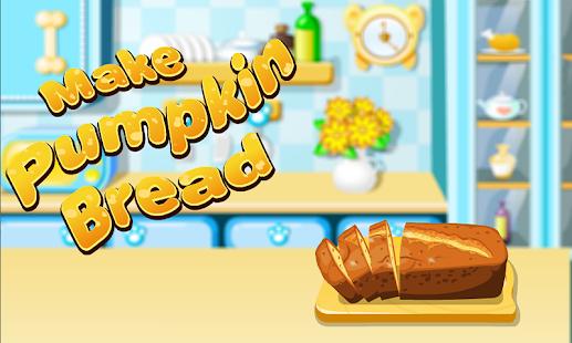 Pumpkin Bread Cooking Games