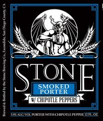 Logo of Stone Smoked Porter With Chipotle Peppers