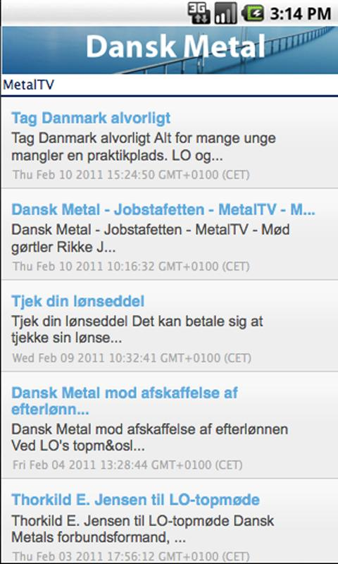 Dansk Metal - screenshot