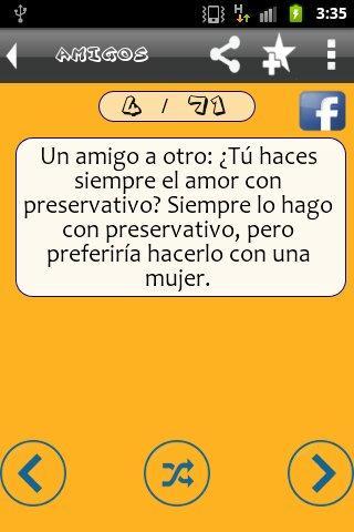Chistes Cortos Buenos - screenshot