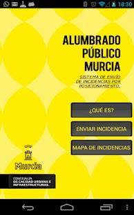 Alumbrado Público Murcia- screenshot thumbnail