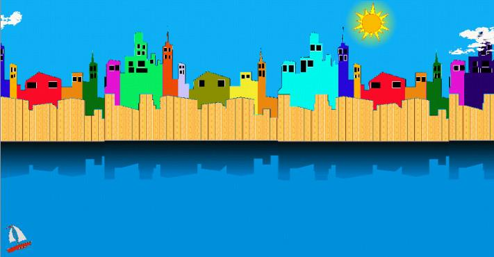 Cool City Live Wallpaper Free - screenshot