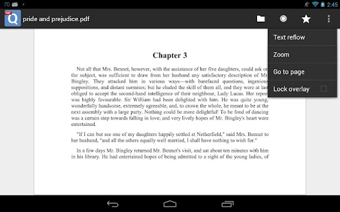 qPDF Viewer Free PDF Reader- screenshot thumbnail