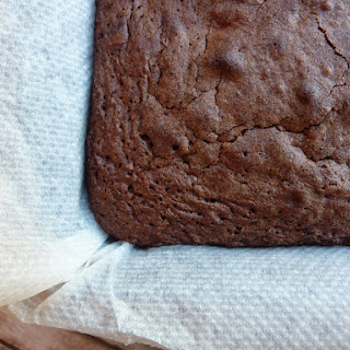 Walnut and Maple Syrup Brownies.