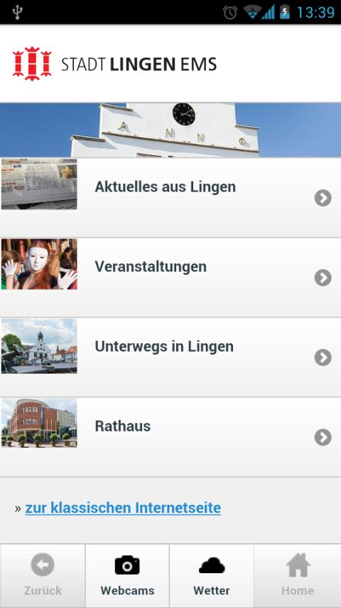 LinApp - screenshot