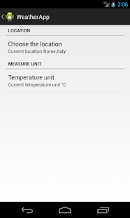 WeatherApp2- screenshot thumbnail