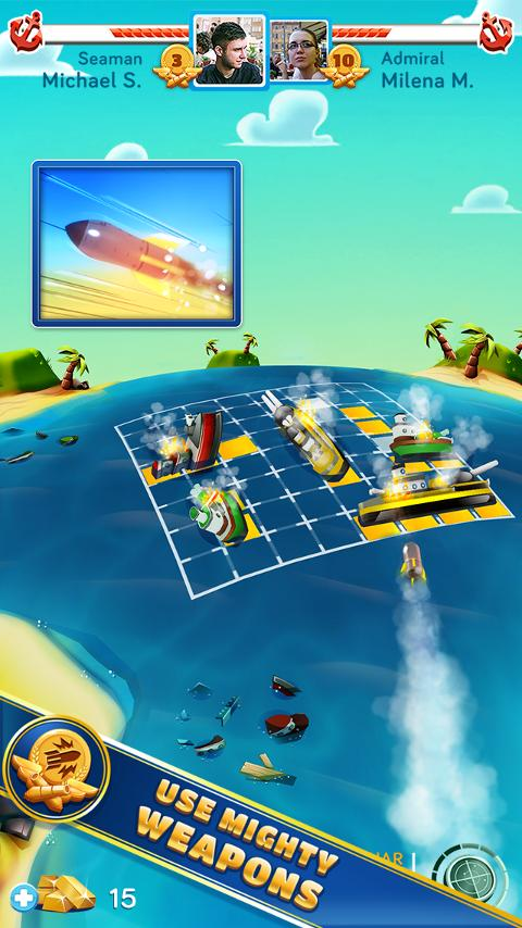 BattleFriends at Sea - screenshot
