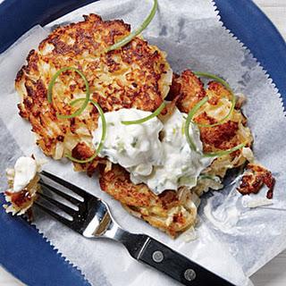 Crisp Cauliflower Fritters