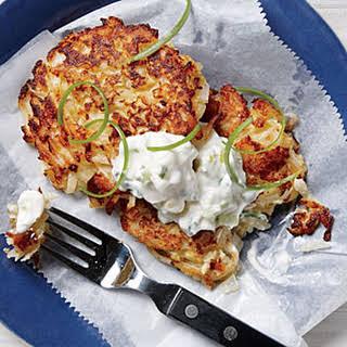 Crisp Cauliflower Fritters.