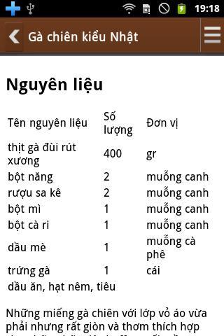 教育必備APP下載|Mon An Hang Ngay - Nau An Ngon 好玩app不花錢|綠色工廠好玩App