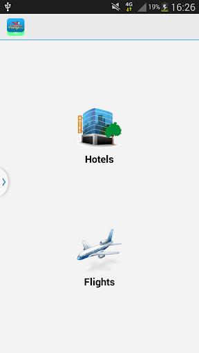 找到便宜的酒店和航班。