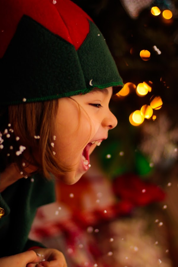by Mieszko Pankowski - Babies & Children Child Portraits ( child, scream, happy, family, christmas, fun, kids, portrait, soft )