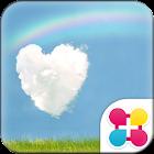 HAPPY RAINBOW Wallpaper Theme icon
