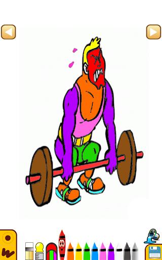 体操着色学习|玩娛樂App免費|玩APPs