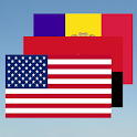 National flags free with sound icon