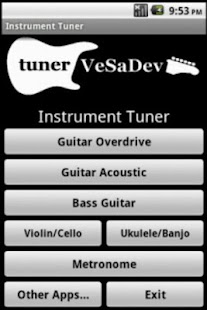 Tuner and metronome- screenshot thumbnail