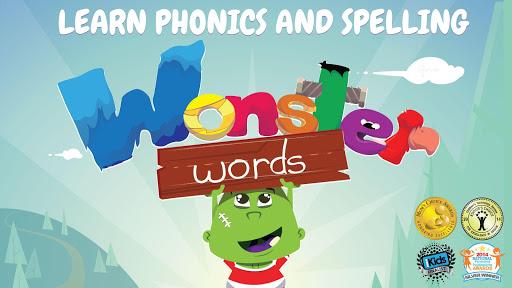 Wonster 學單詞 - 一款適用於兒童的發音拼寫應用