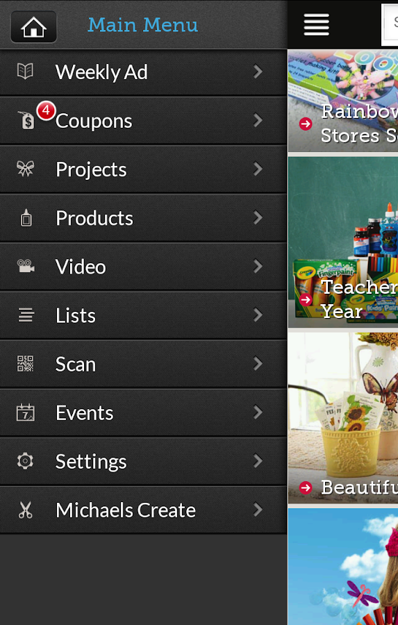 Michaels Stores - screenshot