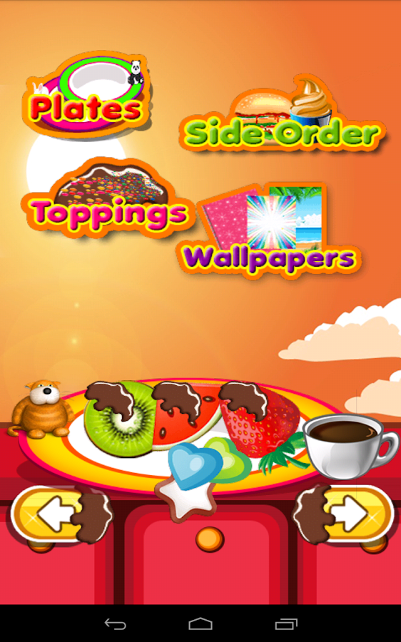 Fondue Maker – Sweet Desserts- screenshot