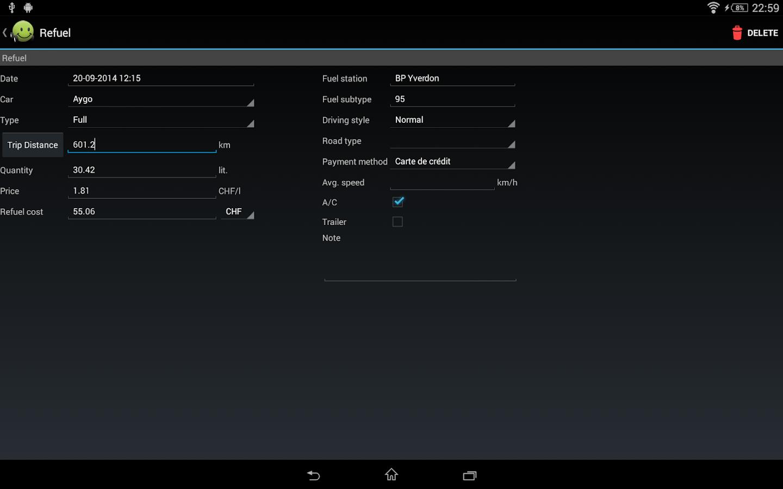 My Cars (Fuel logger++) - screenshot