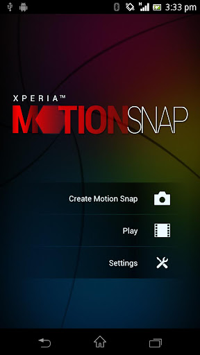 Xperia™ Motion Snap