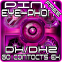 Pink DX/DX2 GO Contacts Theme logo
