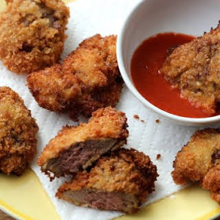 Crispy Deep-Fried Chicken Livers.