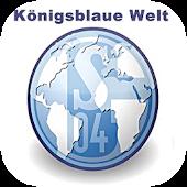 Königsblaue Welt