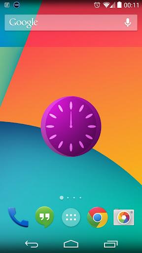 Marktime V1 Clock Widget