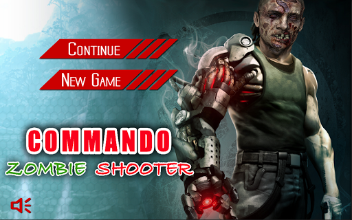 Commando Zombie Shooter 2015