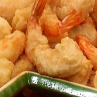 Crispy Tempura Battered Shrimp.