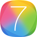 IOS7++ launcher theme icon