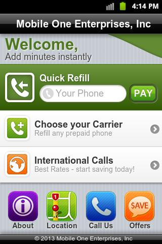 Cell Pay Reup 2.0