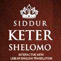 Hebr-Eng  Siddur Keter Shelomo (Interactive) icon