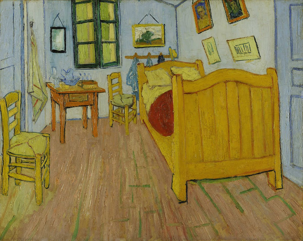 The Bedroom - Vincent van Gogh — Google Arts & Culture