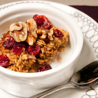 Hearty Baked Oatmeal.