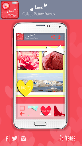 玩免費攝影APP|下載愛照片拼貼照片相框 app不用錢|硬是要APP