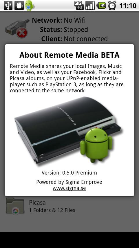 Remote Media! TRIAL - screenshot