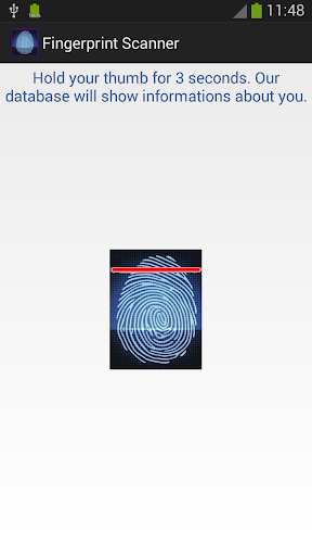 【免費娛樂App】Fingerprint Scanner-APP點子
