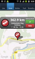 Screenshot of VerkehrsApp