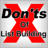 Donts Of List Building