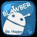 Blawber GO Launcher EX Theme