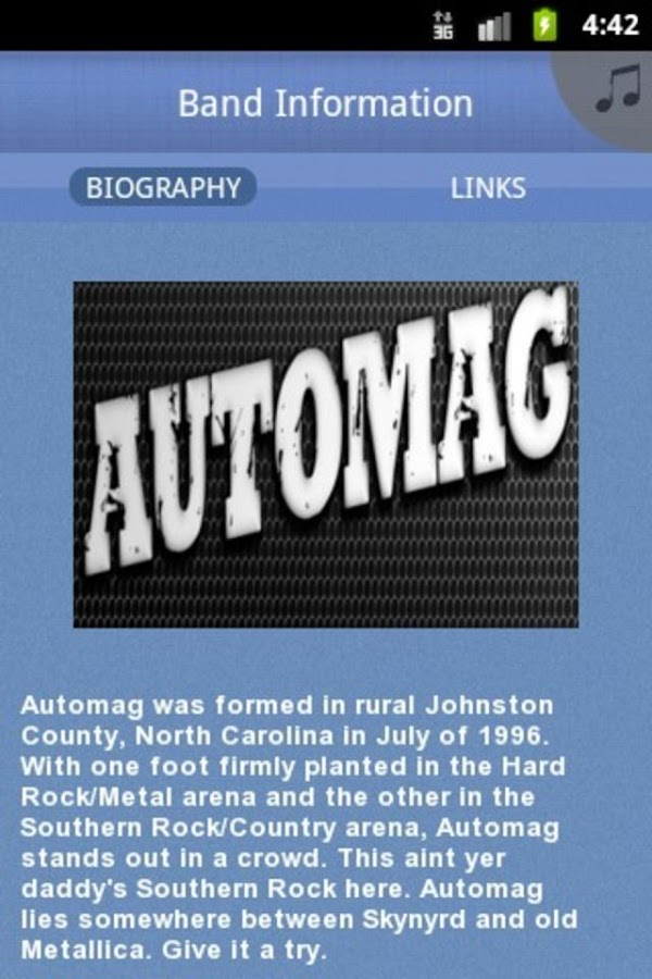 Automag -BMF artist of the yea - screenshot
