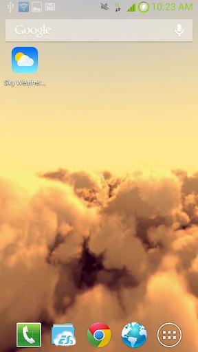 天空天氣動態壁紙|玩個人化App免費|玩APPs