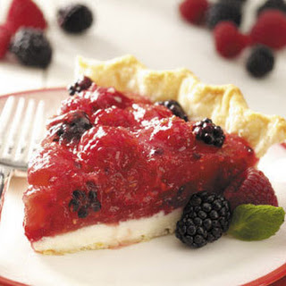 Blackberry Cheese Pie