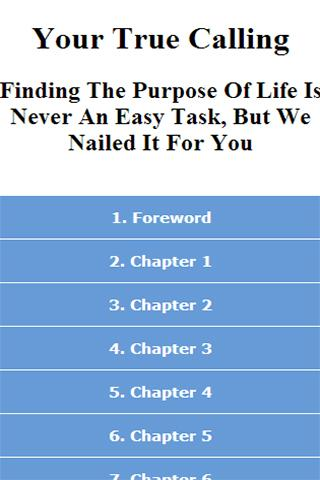 Finding The Purpose Of Life