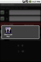 Screenshot of Ohm's Law PLUS