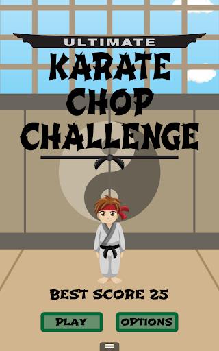 Karate Chop Challenge Free